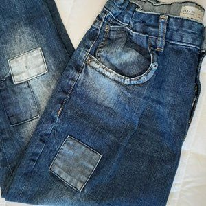 Zara Boys Collection Jeans with Patches 13/14